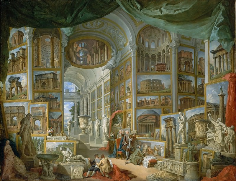 Giovanni Paolo Panini - Ancient Rome. Metropolitan Museum: part 2