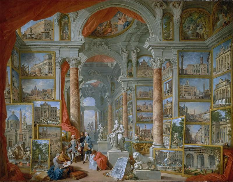 Giovanni Paolo Panini - Modern Rome. Metropolitan Museum: part 2