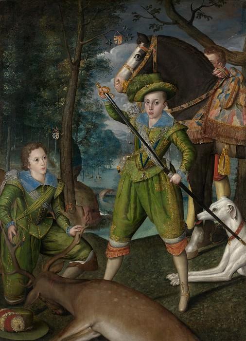Robert Peake the Elder - Henry Frederick (1594–1612), Prince of Wales, with Sir John Harington (1592–1614), in the Hunting Field. Metropolitan Museum: part 2