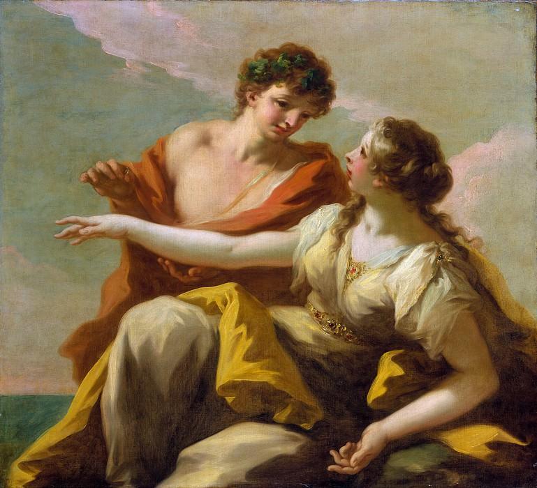 Джованни Антонио Пеллегрини - Вакх и Ариадна. Музей Метрополитен: часть 2