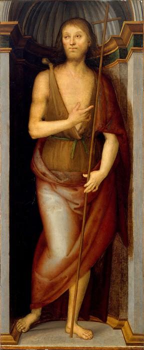 Perugino (Italian, Città della Pieve, active by 1469–died 1523 Fontignano) - Saint John the Baptist; Saint Lucy. Metropolitan Museum: part 2