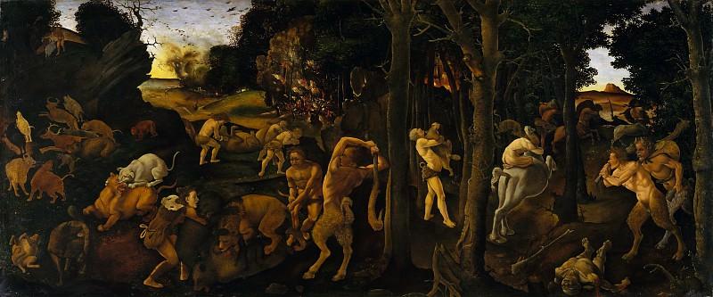 Piero di Cosimo (Italian, Florence 1462–1522 Florence) - A Hunting Scene. Metropolitan Museum: part 2