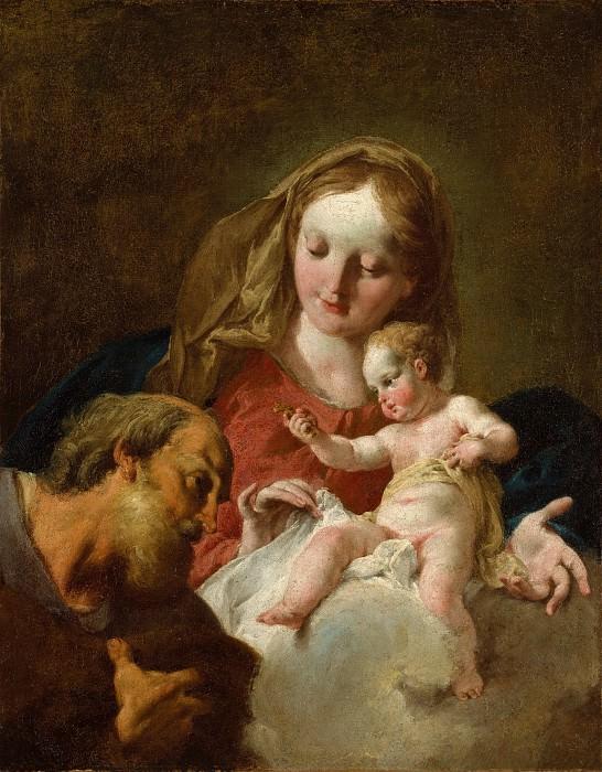 Джованни Баттиста Питтони - Святое семейство. Музей Метрополитен: часть 2