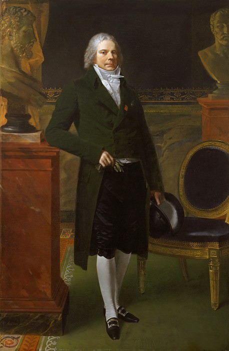 Pierre-Paul Prud'hon - Charles-Maurice de Talleyrand-Périgord (1754–1838), Prince de Bénévent. Metropolitan Museum: part 2