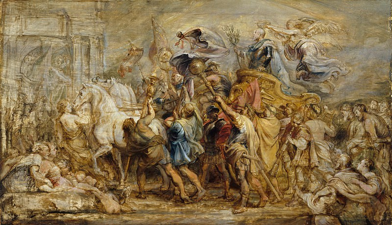The Triumph of Henry IV. Peter Paul Rubens