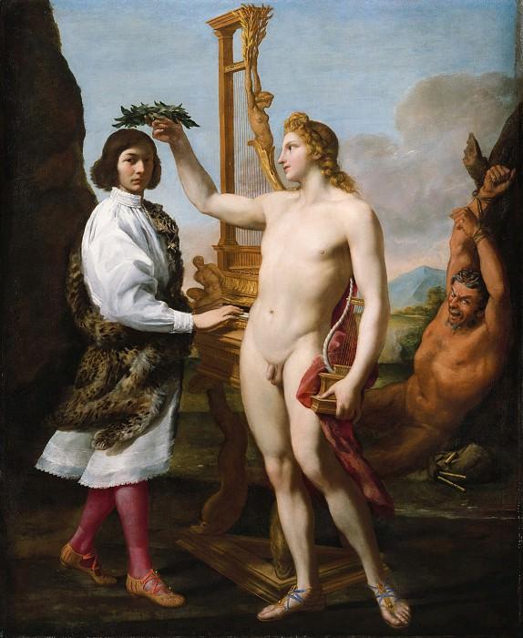 Andrea Sacchi ca. 1599–1661 Rome) - Marcantonio Pasqualini (1614–1691) Crowned by Apollo. Metropolitan Museum: part 2