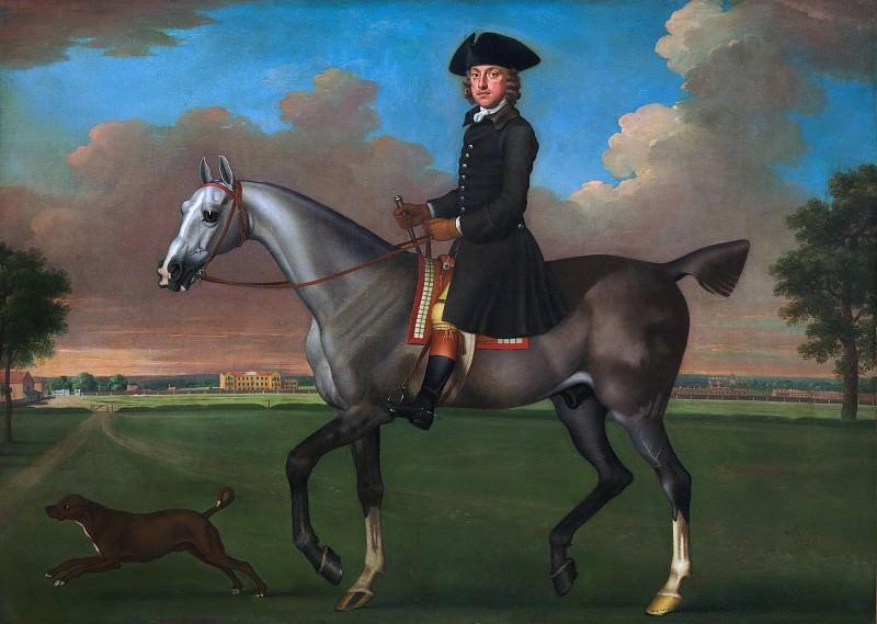 James Seymour ) - Portrait of a Horseman. Metropolitan Museum: part 2