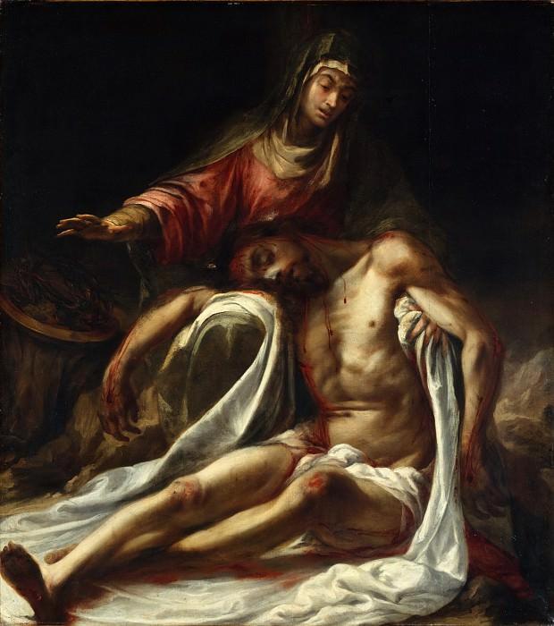 Juan de Valdés Leal - Pietà. Metropolitan Museum: part 2