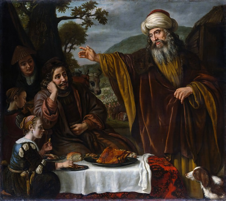 Jan Victors - Abraham's Parting from the Family of Lot. Metropolitan Museum: part 2