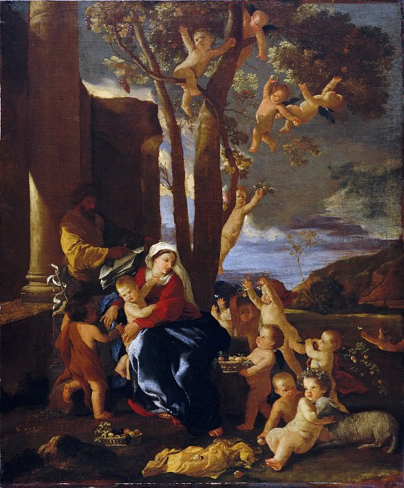 The Rest on the Flight into Egypt. Nicolas Poussin