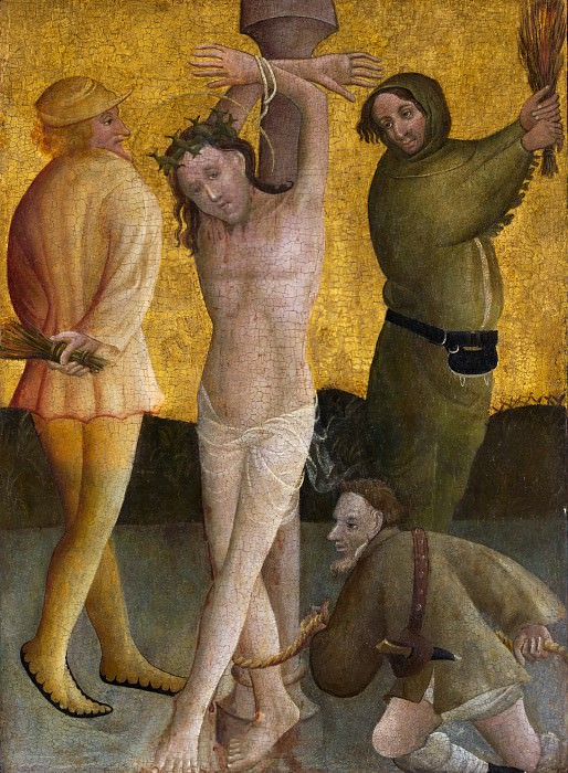 Master of the Berswordt Altar - The Flagellation. Metropolitan Museum: part 2