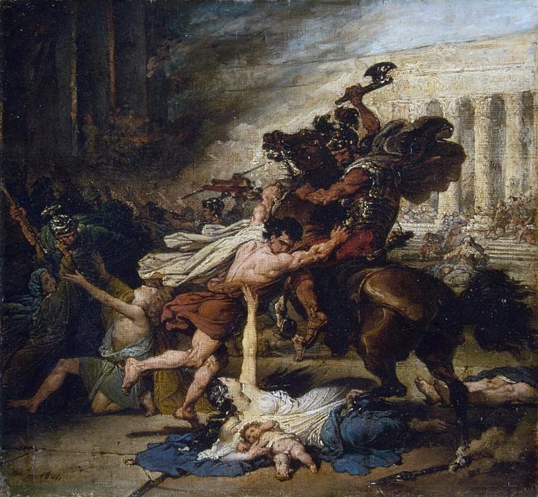 François-Joseph Heim - The Sack of Jerusalem by the Romans. Metropolitan Museum: part 2
