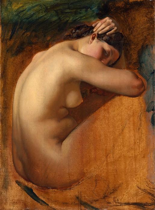 Анри Леманн - Обнажённая женщина, набросок. Музей Метрополитен: часть 2