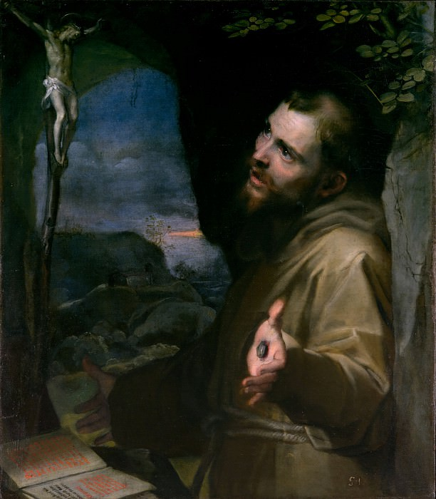 Federico Barocci - Saint Francis. Metropolitan Museum: part 2