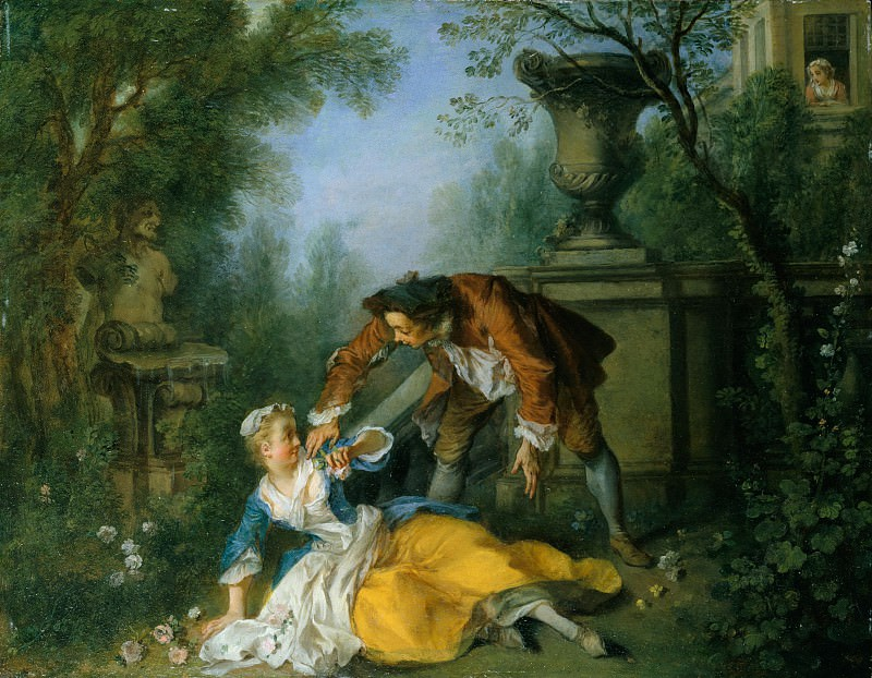 Nicolas Lancret - The Servant Justified. Metropolitan Museum: part 2