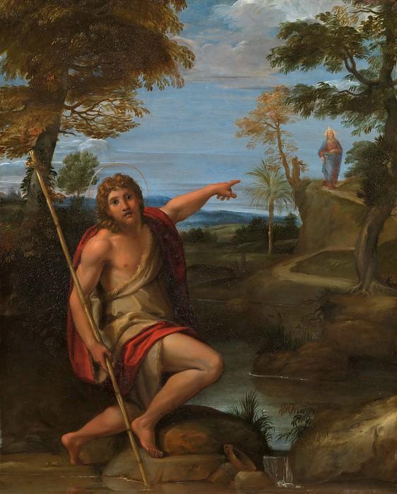 Annibale Carracci - Saint John the Baptist Bearing Witness. Metropolitan Museum: part 2