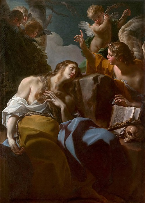 Corrado Giaquinto - The Penitent Magdalen. Metropolitan Museum: part 2
