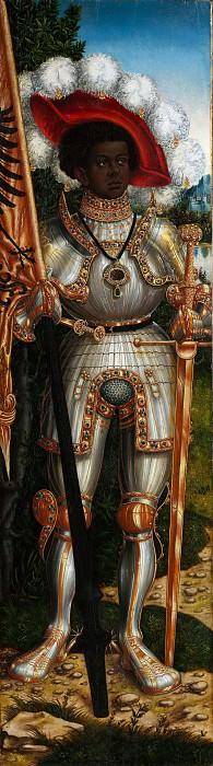 Lucas Cranach the Elder and Workshop - Saint Maurice. Metropolitan Museum: part 2