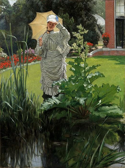 James Tissot - Spring Morning. Metropolitan Museum: part 2