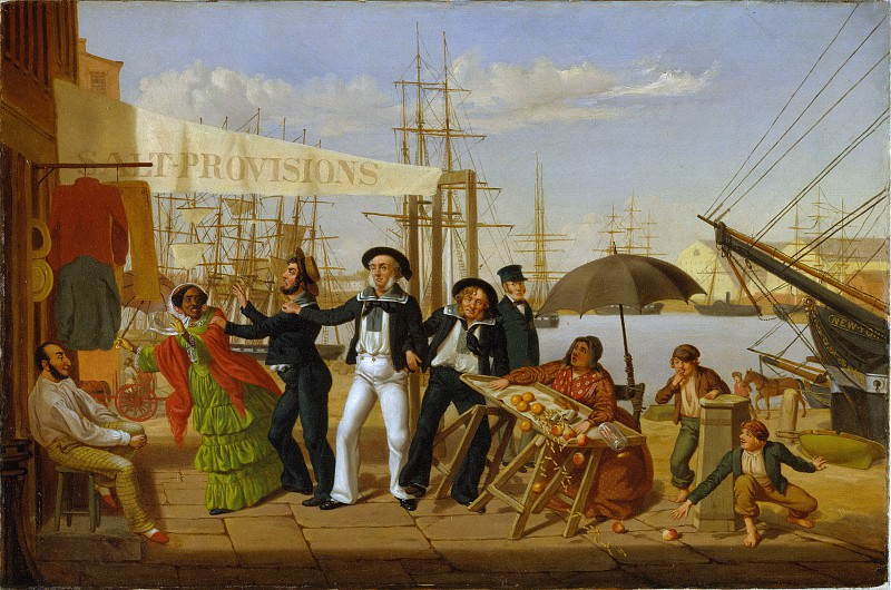 John Carlin - After a Long Cruise. Metropolitan Museum: part 2