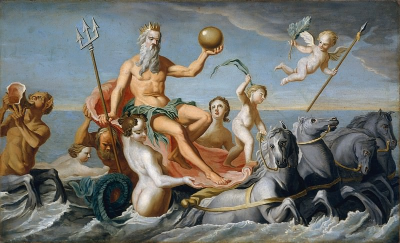 John Singleton Copley - The Return of Neptune. Metropolitan Museum: part 2