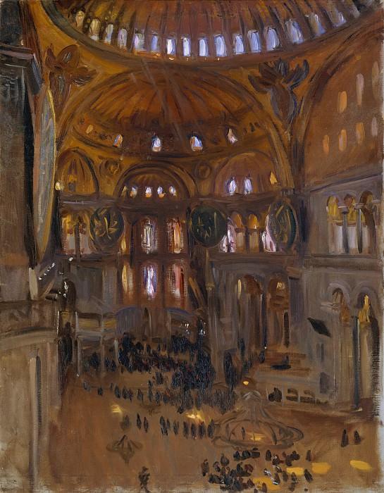 John Singer Sargent - Santa Sofia. Metropolitan Museum: part 2