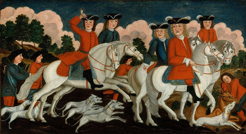 Unknown - The Hunting Party—New Jersey. Metropolitan Museum: part 2