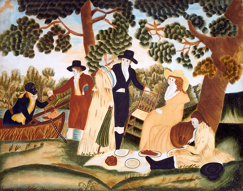 Unknown - The Picnic. Metropolitan Museum: part 2