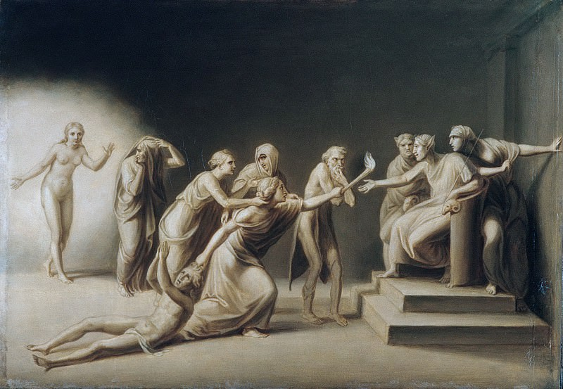 John Vanderlyn - The Calumny of Apelles. Metropolitan Museum: part 2