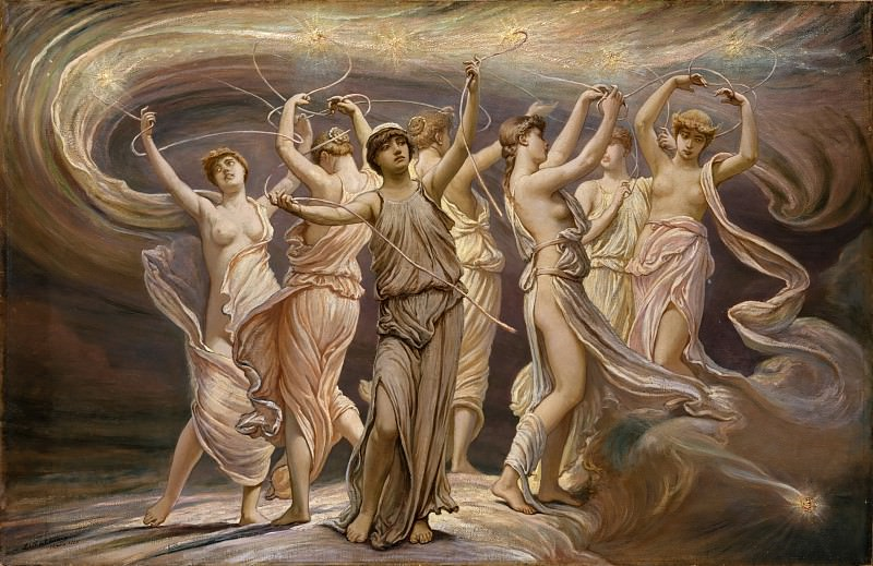 Elihu Vedder - The Pleiades. Metropolitan Museum: part 2
