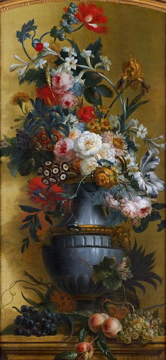 Willem van Leen - Flowers in a Blue Vase. Metropolitan Museum: part 2