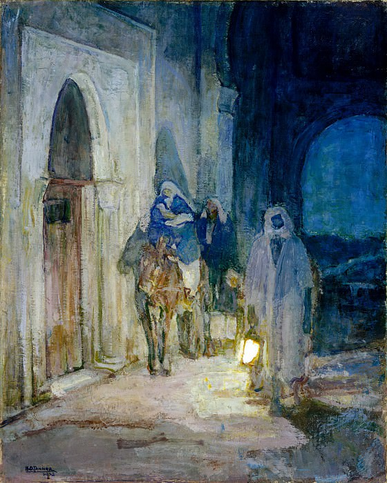 Henry Ossawa Tanner - Flight Into Egypt. Metropolitan Museum: part 2