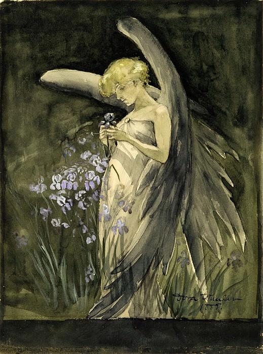 Dora Wheeler - Fairy in Irises. Metropolitan Museum: part 2