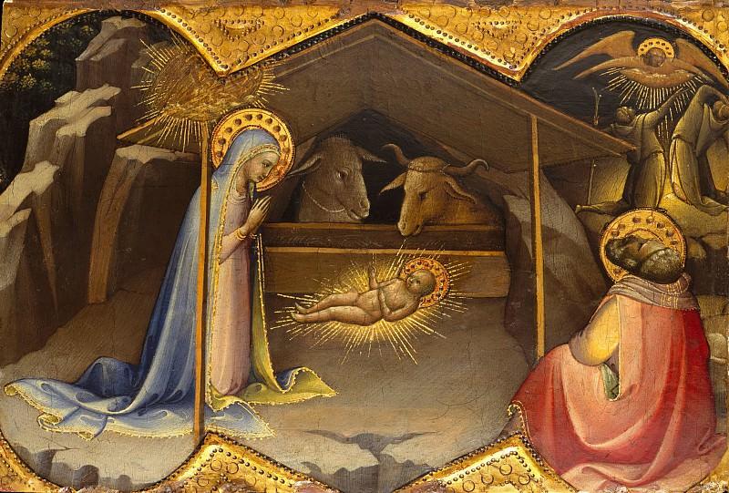 Lorenzo Monaco (Italian, Florence (?) ca. 1370–1425 Florence (?)) - The Nativity. Metropolitan Museum: part 2