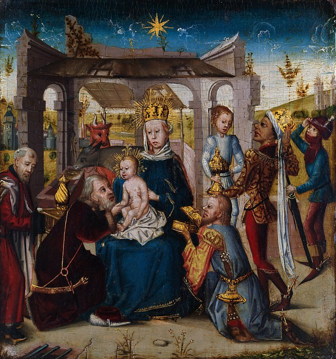 German artist - Adoration of the Magi. Metropolitan Museum: part 2