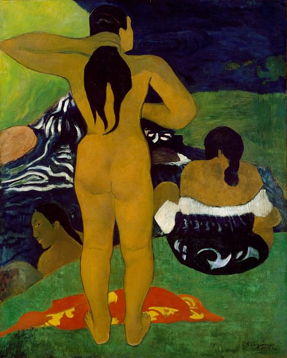 Paul Gauguin - Tahitian Women Bathing. Metropolitan Museum: part 2