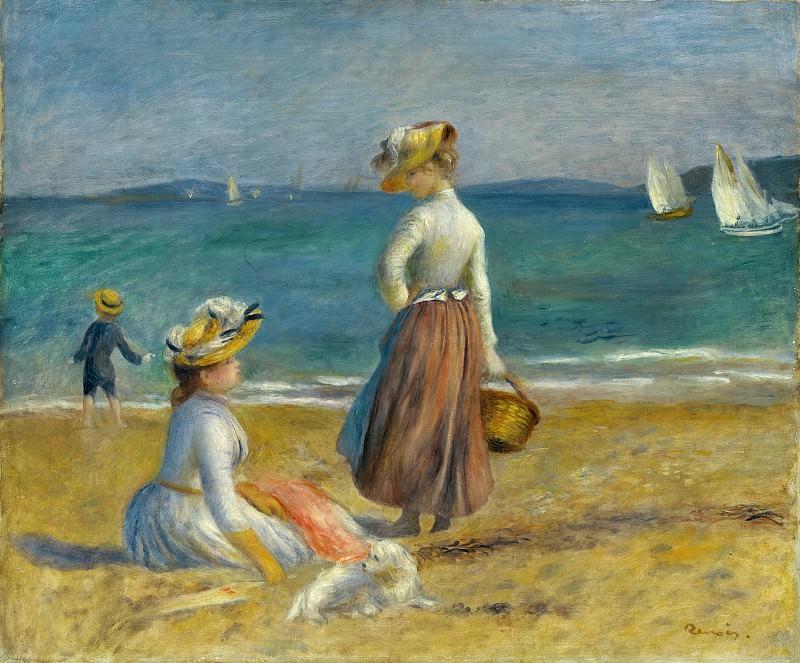 Auguste Renoir - Figures on the Beach. Metropolitan Museum: part 2