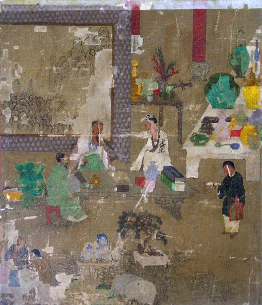 Wang Li Mu - Discussing the Treasures. Metropolitan Museum: part 2