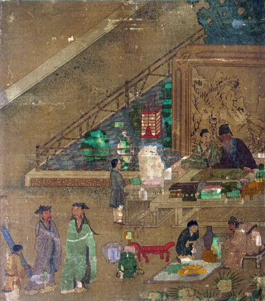 Wang Li Mu - Inspecting Rare Works of Art. Metropolitan Museum: part 2