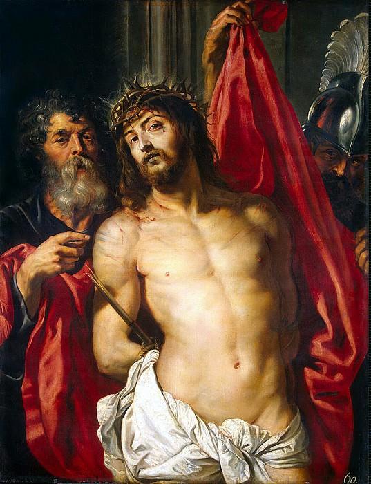 Рубенс, Питер Пауль - Христос в терновом венце. Эрмитаж ~ часть 10
