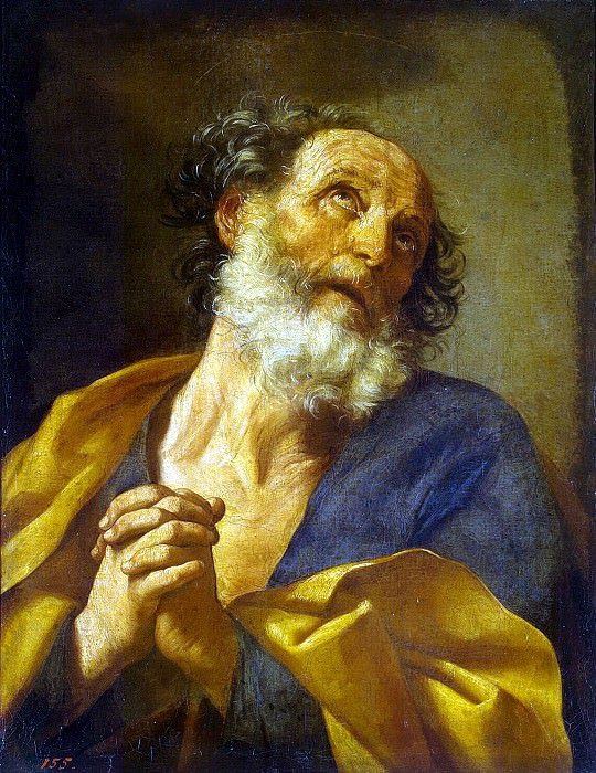 Reni, Guido - Repentance of Peter the Apostle. Hermitage ~ part 10