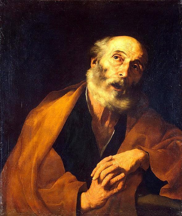 Ribera, José de - Repentance St. Peter. Hermitage ~ part 10