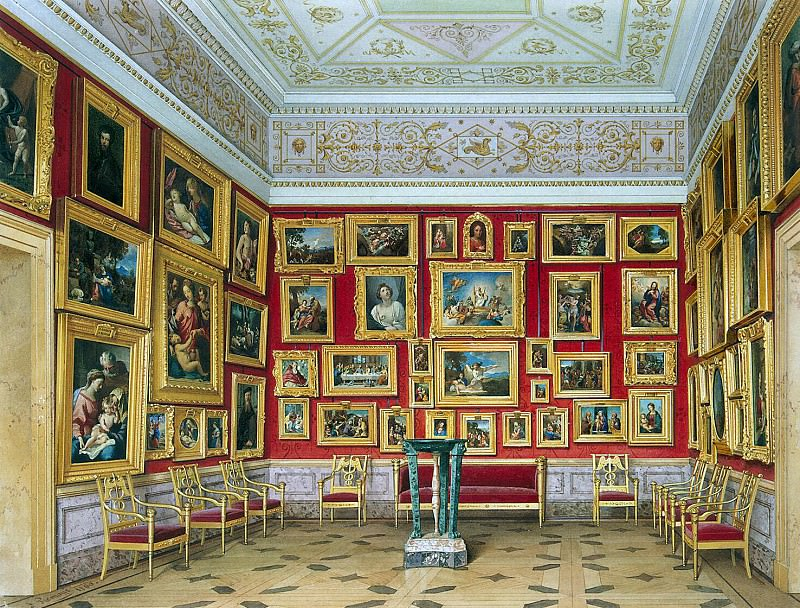 Premazzi, Luigi - Types halls of the New Hermitage. Study Italian schools. Hermitage ~ part 10