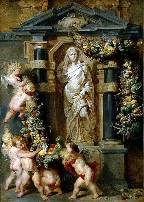 Rubens, Peter Paul - Statue of Ceres. Hermitage ~ part 10