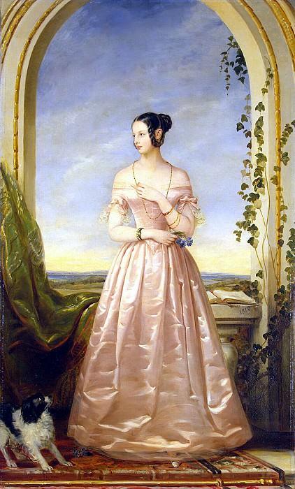 Robertson, Christina - Portrait of Grand Duchess Alexandra Nikolaevna. Hermitage ~ part 10