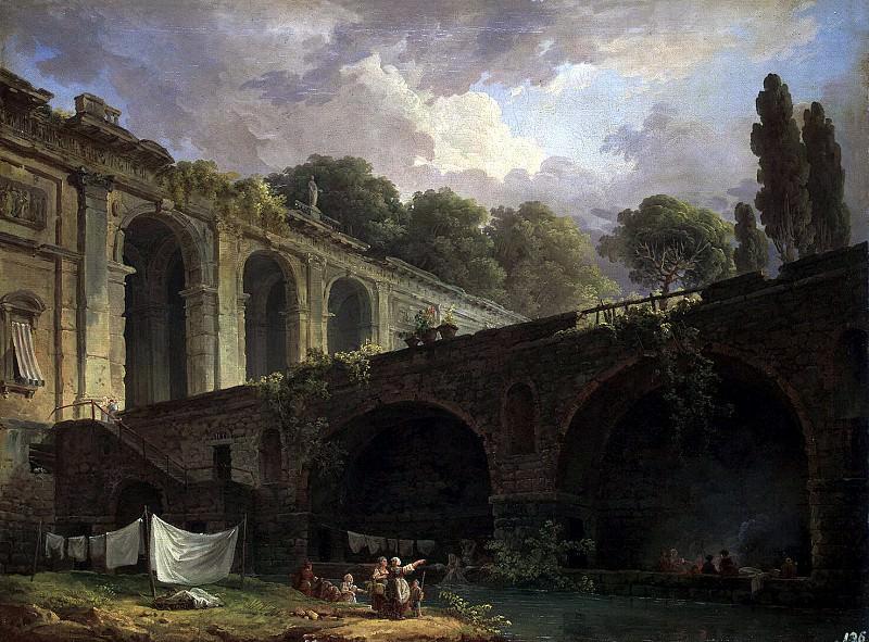 Robert, Hubert - Villa Madama near Rome (2). Hermitage ~ part 10