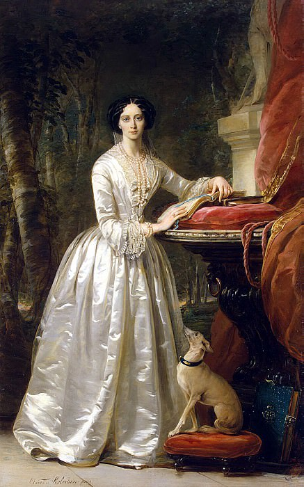 Robertson, Christina - Portrait of Grand Duchess Maria Alexandrovna (2). Hermitage ~ part 10