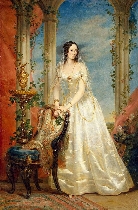 Robertson, Christina - Portrait of Zinaida Yusupova. Hermitage ~ part 10