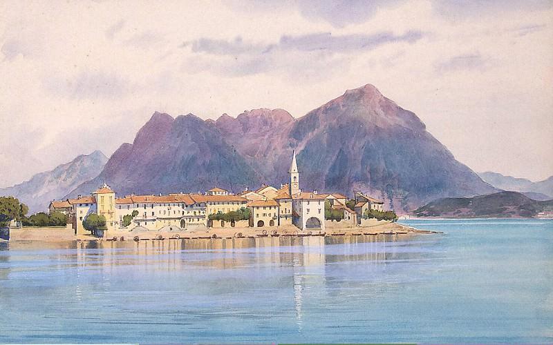 Premazzi, Luigi - Island fishermen on Lago Maggiore. Hermitage ~ part 10