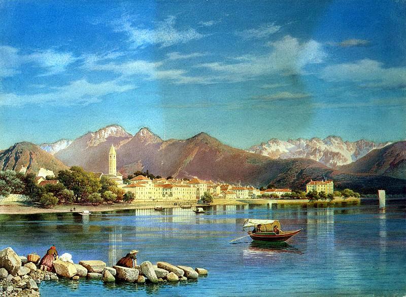 Premazzi, Luigi - Type of Lago Maggiore. Hermitage ~ part 10